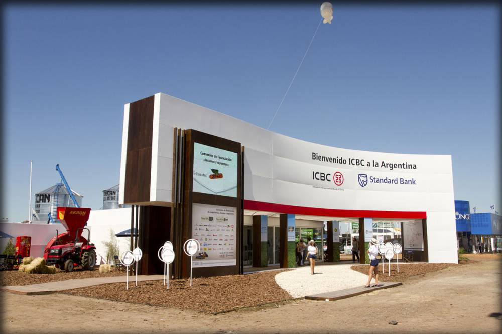 Expoagro Stands : Icbc standard bank expoagro buenos aires