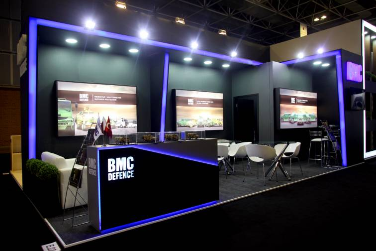BMC Defence, LAAD Defence & Security, 2017